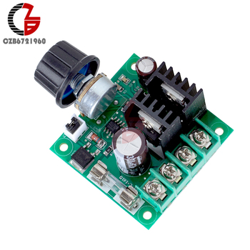 400W 10.A Sprieguma Regulators DC 12V-40V PWM LĪDZSTRĀVAS Motors, Ātruma regulators Regulators Ventilatora Ātruma Kontroles Reostats Slēdzis Jaudas regulators