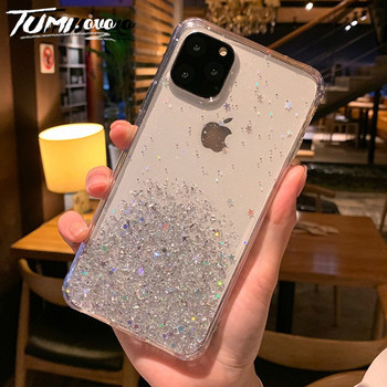 Bling Mirdzēt Star Silikona Case For iPhone 8 7 6 6S Plus SE